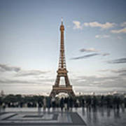 Eiffel Tower Paris Print by Melanie Viola