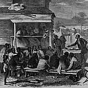 Electioneering In The South In Summer Print by Everett