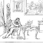 Emancipation Cartoon Print by Granger