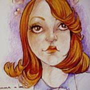 Emma In Love Print by Jackie Rock
