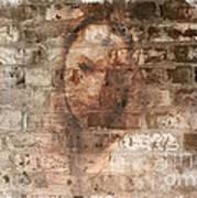 Emotions- Self Portrait Print by Janie Johnson