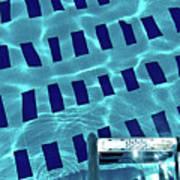 Entrance To Pool Print by Daniel Kulinski