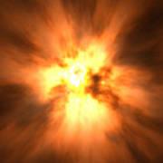 Explosion Print by David Mack