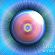 Eye Print by Nicholas Burningham