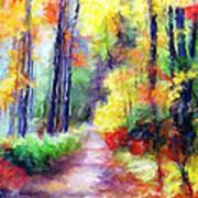 Fall Melody Print by Marilyn Sholin
