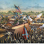 Fall Of Petersburg, 1865 Print by Granger