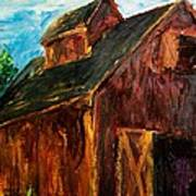 Farm Barn Print by Scott Nelson
