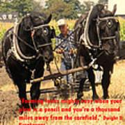 Farming Looks Easy Print by Ian  MacDonald