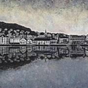 Farsund Waterfront Print by Janet King