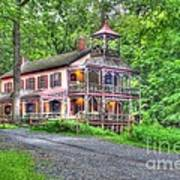 Feltville Historic District Store And Church  Print by Lee Dos Santos