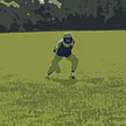 Fielding 2 Print by Peter  McIntosh