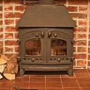 Fireplace Print by Tom Gowanlock