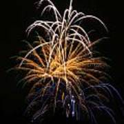 Fireworks 6 Print by Paul Marto