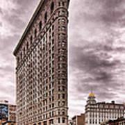 Flat Iron Building Print by Michael Dorn
