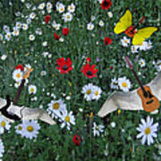 Flower Power  Print by Eric Kempson