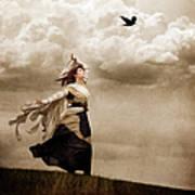 Flying Dreams Print by Cindy Singleton