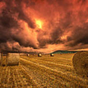 Foreboding Sky Print by Mark Leader
