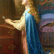 'forget Me Not' Print by Arthur Hughes