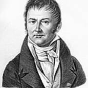 Francis Broussais, French Doctor Print by