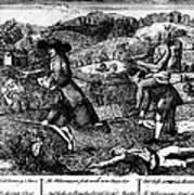 Franklin: Cartoon, 1764 Print by Granger