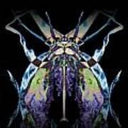 Freaky Bug Plant Print by David Kleinsasser