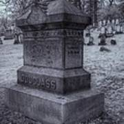 Frederick Douglass Grave One Print by Joshua House