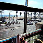 Freds Huntington Beach Print by RJ Aguilar
