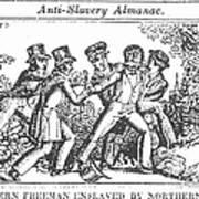 Freedman Enslaved, 1839 Print by Granger