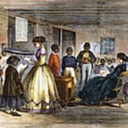 Freedmens School Print by Granger