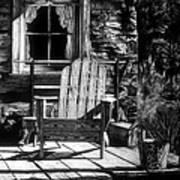 Front Porch Print by Jerry Winick