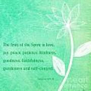 Fruit Of The Spirit Print by Linda Woods