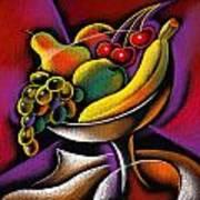Fruits Print by Leon Zernitsky
