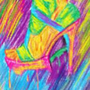 Funky Stilettos Impression Print by Pierre Louis