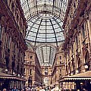 Galleria Vittorio Emanuele Print by Benjamin Matthijs