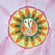 Ganesh Mandala Print by Sonali Gangane