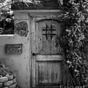 Garden Doorway 2 Print by Perry Webster