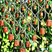 Garden Noah Bells Print by Cheryl Young