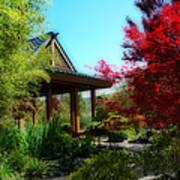Garden Retreat Print by Lynn Bauer