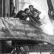 Gatling Gun, 1878 Print by Granger