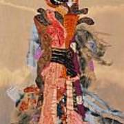 Geisha Print by Roberta Baker
