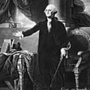 George Washington, 1st American Print by Omikron