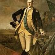 George Washington At Princeton Print by Charles Wilson Peale
