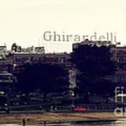 Ghirardelli Square Print by Linda Woods