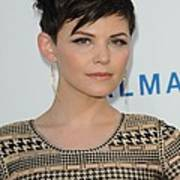 Ginnifer Goodwin At Arrivals Print by Everett