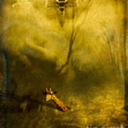 Giraffe And The Heart Of Darkness Print by Paul Grand
