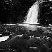 Gleno Or Glenoe Waterfall County Antrim Northern Ireland Uk Print by Joe Fox