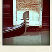 Gondola.venice.italy Print by Bernard Jaubert