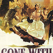 Gone With The Wind Print by Georgia Fowler
