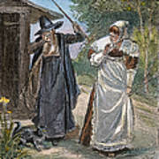 Goodwife Walford, 1692 Print by Granger