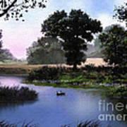 Goose Pond Print by Robert Foster